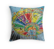 Chairoplane Throw Pillow