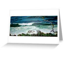 Seascape - www.gunnel-karel.com Greeting Card