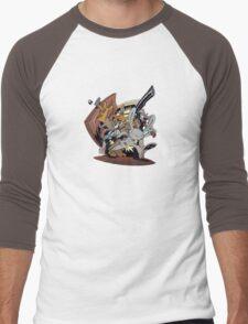 Sam & Max - Door Art Men's Baseball ¾ T-Shirt