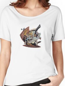 Sam & Max - Door Art Women's Relaxed Fit T-Shirt