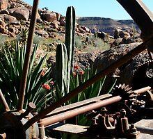 Through The Wagon Wheel by Vanessa  Warren