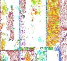 Abstract City 4 Sticker