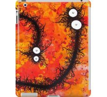 the creatures from the drain painting 31 iPad Case/Skin