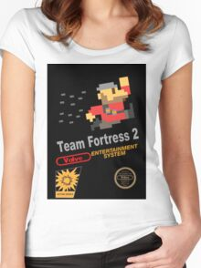 Team Fortress 2 - NES Women's Fitted Scoop T-Shirt