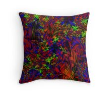 Visual Psychedelia Series  Throw Pillow