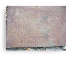 Rusty Lid Canvas Print