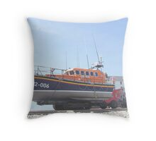 LIFE BOAT.  Throw Pillow