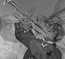 Louis Armstrong by scissorpunk