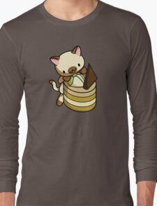 Canelle Apple Kitty Long Sleeve T-Shirt
