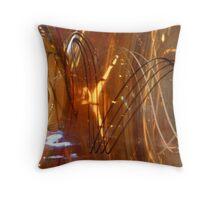 Vase Veins Throw Pillow