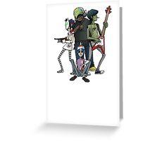 Gorillaz Greeting Card