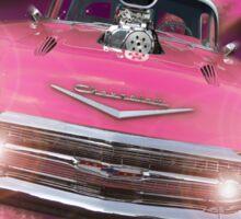 Pink Chevy Sticker