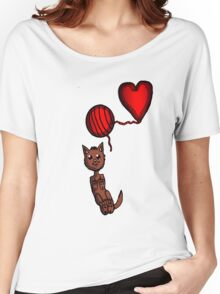 Kitty and Yarn  Women's Relaxed Fit T-Shirt