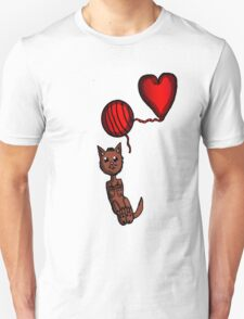 Kitty and Yarn  Unisex T-Shirt
