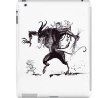 Merry Christmas, Krampus! iPad Case/Skin