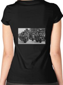 Badges n Bikes Women's Fitted Scoop T-Shirt