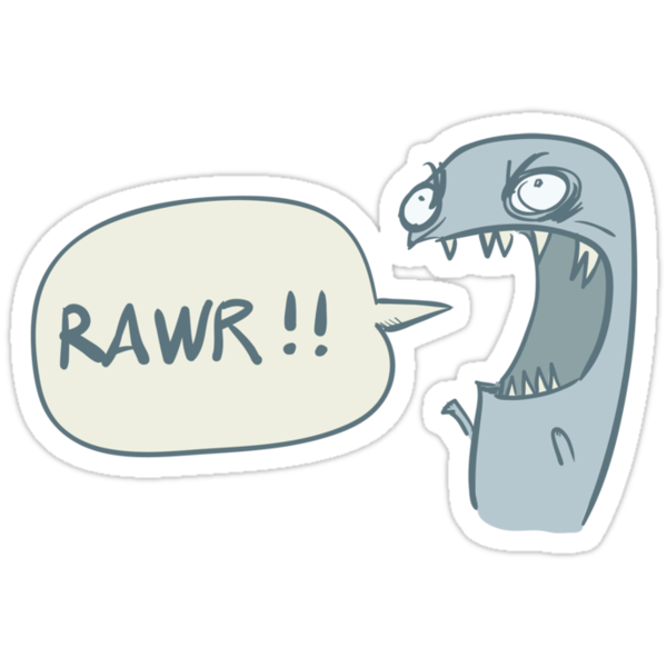 RAWR!! by Paul McClintock