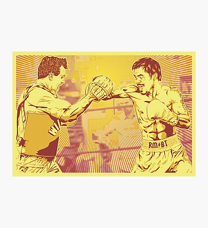 One Two Punch Photographic Print