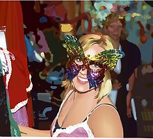 Tiffany at the Key West Mardi Gras by zfollweiler