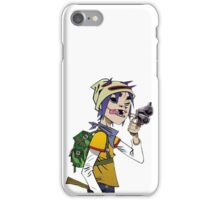 Gorillaz - 2-D iPhone Case/Skin