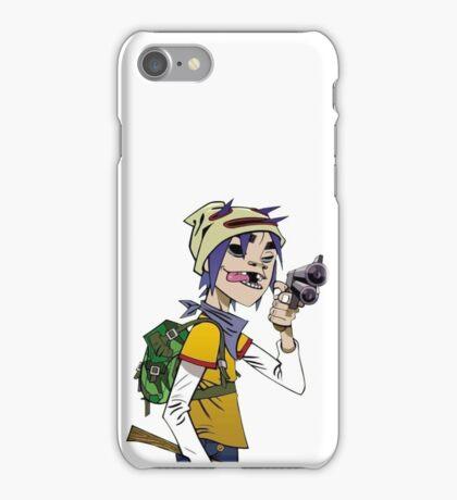 Gorillaz - 2-D iPhone Case/Skin