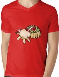 Charlotte Russe Kitty Mens V-Neck T-Shirt