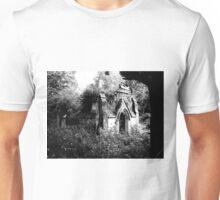 Gothic derelict tomb Unisex T-Shirt