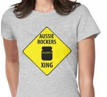 5SOS XING (Crossing Sign) -Vegemite Womens Fitted T-Shirt