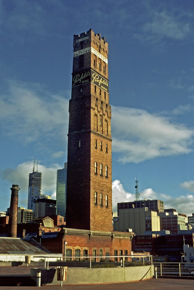 Shot Tower by Colin  Ewington