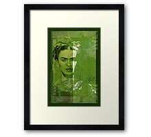 Frida Kahlo - between worlds Framed Print