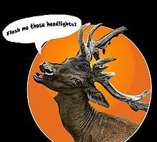 Looking for headlights by HomicidalHugz