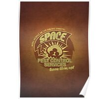 Space pest control services Poster