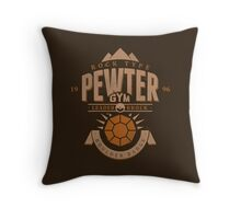 Pewter Gym Throw Pillow