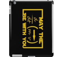 May the Equation be with you iPad Case/Skin