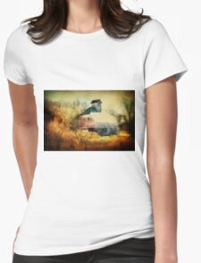 Autumn Nebraska Barn Womens Fitted T-Shirt