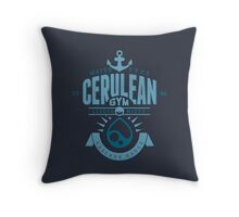 Cerulean Gym Throw Pillow