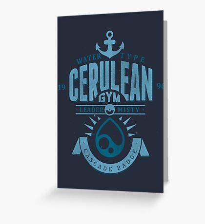Cerulean Gym Greeting Card