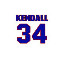 Hey, you must be a big fan of Kendall, if not pls search for your favourite players jersey to wear it proudly.  Photographic Print