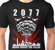 2077 Never Forget The Fallen V1 Unisex T-Shirt