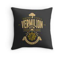 Vermilion Gym Throw Pillow