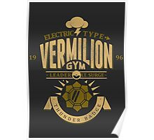 Vermilion Gym Poster