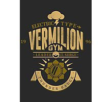 Vermilion Gym Photographic Print