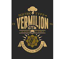 Vermilion Gym Photographic Print