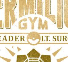 Vermilion Gym Sticker