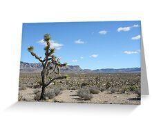 Grand Wash Cliffs, AZ Greeting Card