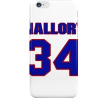 National football player Larry Mallory jersey 34 iPhone Case/Skin