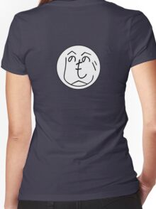 Hehenomonoheji Face - Nindogs Women's Fitted V-Neck T-Shirt