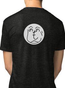 Hehenomonoheji Face - Nindogs Tri-blend T-Shirt