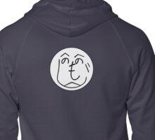 Hehenomonoheji Face - Nindogs Zipped Hoodie