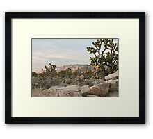 Clark Mountain Alpenglow Framed Print